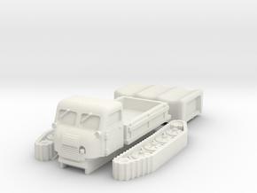 Steyr RSO scale 1/87 in White Natural Versatile Plastic