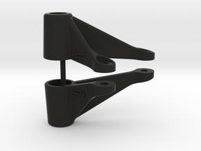 hpi WR8 Front Body Post Reinforcement [kit] v4 Low in Black Natural Versatile Plastic