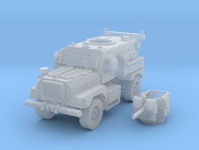 MRAP cougar 4x4 scale 1/87 in Smooth Fine Detail Plastic
