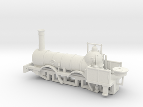 00 Scale Coppernob Loco scratch-aid in White Natural Versatile Plastic