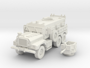MRAP cougar 6x6 scale 1/87 in White Natural Versatile Plastic