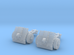 leIG 7,5cm scale 1/87 (2 pieces) in Smooth Fine Detail Plastic