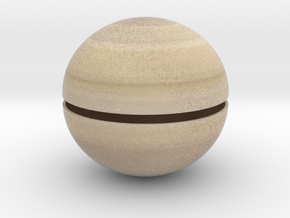 Saturn (Bifurcated) 1:0.7 billion in Full Color Sandstone