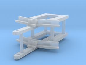 MF western drawbar x2 in Smooth Fine Detail Plastic