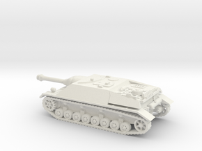 jagdpanzer IV scale 1/100 in White Natural Versatile Plastic
