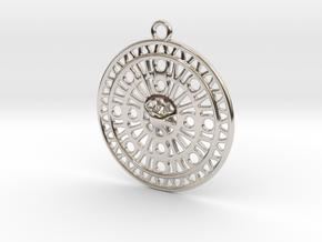 Celtic Ornament, Sanctuary of Hera, Greece (ring) in Platinum: Medium