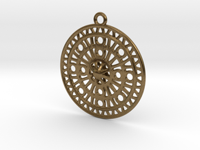 Celtic Ornament, Sanctuary of Hera, Greece (ring) in Natural Bronze: Large
