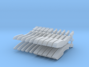Kukris 32mm x20 in Smooth Fine Detail Plastic