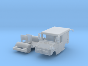 Mail Truck 1-87 HO Scale  in Smooth Fine Detail Plastic