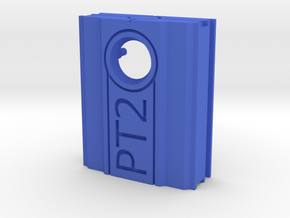 PureThermal 2 Case - Part 1/2 in Blue Processed Versatile Plastic
