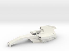 FR02 2018 Spec F1 Main Body in White Natural Versatile Plastic