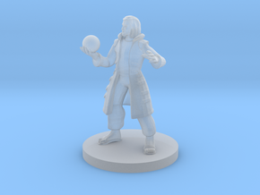 Human Male Warlock in Smooth Fine Detail Plastic