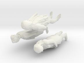 Printle C Tween 051 - 1/32 - wob in White Natural Versatile Plastic