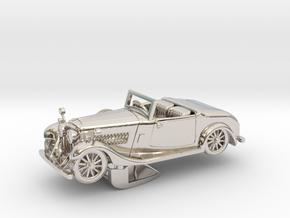 Bentley 1930 4,5L 1:48 in Platinum