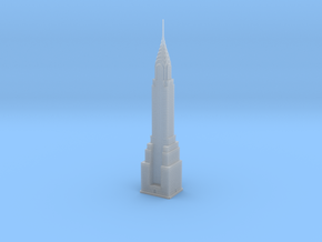 Chrysler Building (1:1250) in Smooth Fine Detail Plastic