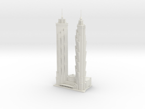 JW Marriott Marquis Dubai (1:2000) in White Natural Versatile Plastic
