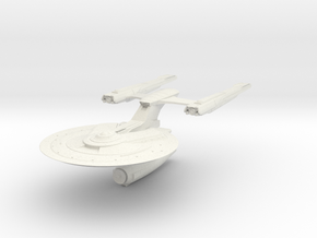 Federation Sailor Class Cruiser in White Natural Versatile Plastic