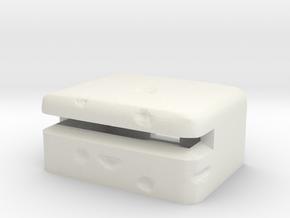 costal ww2 bunker scale 1/100 in White Natural Versatile Plastic
