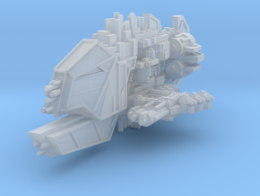 Smasher Light Cruiser in Smooth Fine Detail Plastic