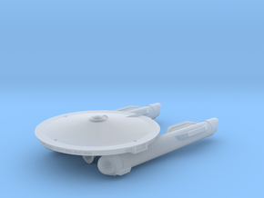 Confederation Arleigh Class Frigate in Smooth Fine Detail Plastic