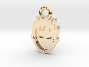 Cool Esboo Pendant in 14k Gold Plated Brass