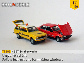 SET Straßenwacht (TT 1:120) in Smooth Fine Detail Plastic
