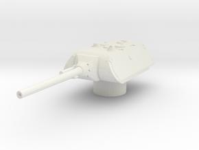 maus turret for E100 scale 1/100 in White Natural Versatile Plastic
