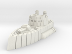 Carlisle Class Heavy Destroyer in White Natural Versatile Plastic