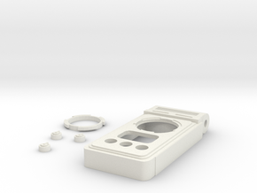 Discovery Communicator body, buttons, and bezel  in White Natural Versatile Plastic
