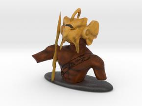 Horus for chess in Full Color Sandstone
