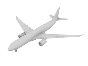 1:500 - A330-900 + Neo Engines [Sprue] in Smooth Fine Detail Plastic