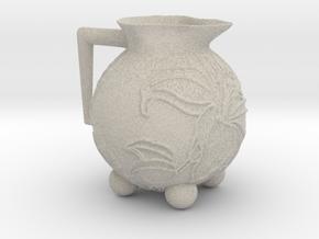 Hibiscus Pot in Natural Sandstone