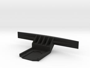 Carisma GT24B Bumper in Black Premium Versatile Plastic