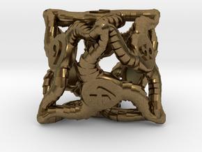 D8 Balanced - Tiefling in Natural Bronze