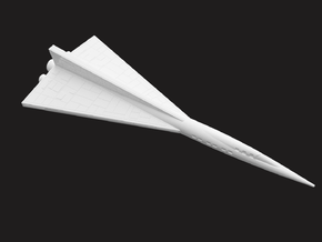 Old Ship (160 mm) in White Natural Versatile Plastic