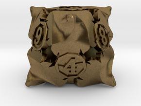 D8 Balanced - Fire in Natural Bronze