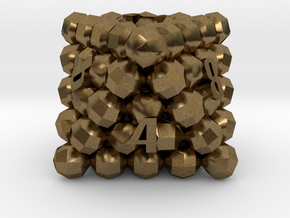 D8 Balanced - Balls in Natural Bronze