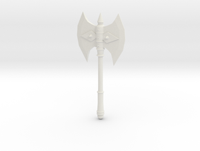 battle axe 2 in White Natural Versatile Plastic
