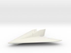 (1:285) Horten Ho XIII B in White Natural Versatile Plastic