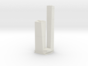 OKO Towers (1:1800) in White Natural Versatile Plastic