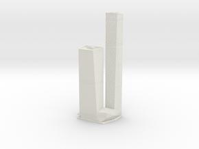 OKO Towers (1:1800) in White Natural Versatile Plastic