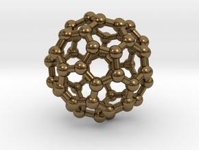 Buckminsterfullerene  (Bucky Ball) in Natural Bronze