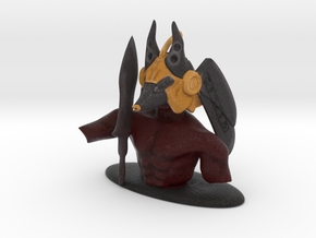 Anubis for chess in Full Color Sandstone