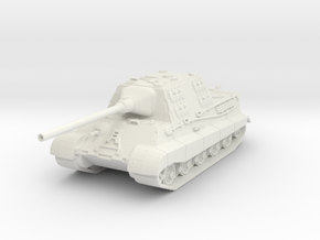 jagdtiger scale 1/100 in White Natural Versatile Plastic