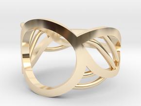 Triton Ring in 14K Yellow Gold: 5 / 49
