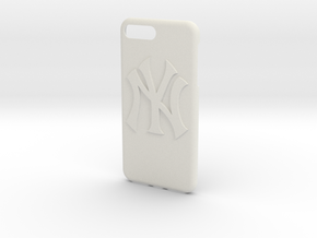 New York Yankees Iphone 7  in White Natural Versatile Plastic