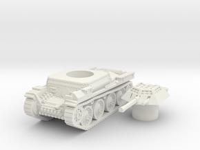 Aufklarer pz 38t scale 1/100 in White Natural Versatile Plastic