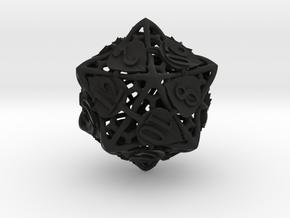 Botanical Die20 (Aspen) in Black Premium Versatile Plastic