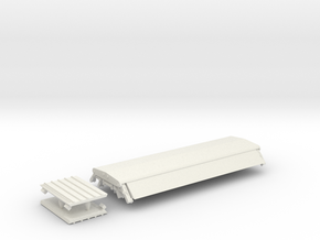 """PAA41 BIS """"PAA"""" Sand hopper wagon (sealed top) in White Natural Versatile Plastic"""