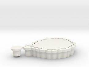 durian-cookiecutter in White Natural Versatile Plastic